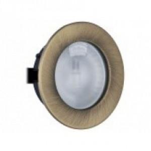 1898 Светильник мебельный FT9251 матовое золото(с лампой G4)