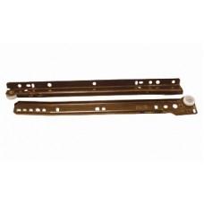 611 Роликовые направляющие 350 мм  коричневые