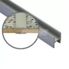 1432 Планка д/панелей Союз 4мм 1030 600мм щелевая