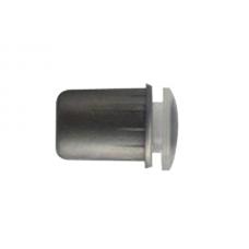 Бампер врезной  D.8 х 13,7 мм  пласт.серый 04.315.000.20