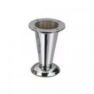 2101 Ножка NZ 0904 металл конус хром 08.01.008