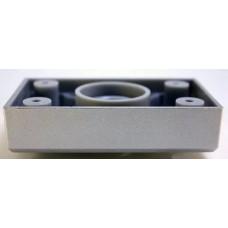 1206 Опора регулируемая №1(88*54*20) пластик металлик
