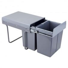 1464 Контейнер для отходов 40 (2х20L)Н-420мм Ам с фиксатором