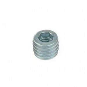 2130 Втулка для угловой стяжки металлическая (голая)