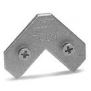 9812 Угловой соединитель 7004, силумин (7004)