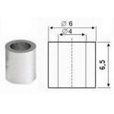 9802 Муфта для установки ручек в стекле под винт 6,5мм (MF03)