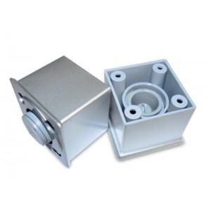 1207 Опора регулируемая №2 (50*50*45) пластик металлик