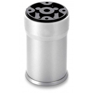 1213 Опора регулируемая №5 (д56/61,Н100-120) пластик металлик