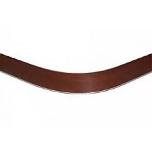 3143 Закругление цоколя (универсальное) 100мм 1,0м пластик, орех итальянский