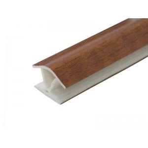 3174 Соединение цоколя 4м 100мм 135*(универсальное) пластик, орех темный