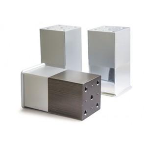 2725 Опора (50х50х100) №3 хром+металлик