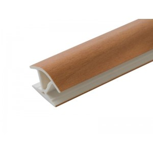 Соединение цоколя 4м 100мм 135*(универсальное) пластик, орех миланский