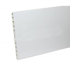 Цоколь кухоный 3,2м 150мм белый (с уплотн)