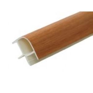Соединение цоколя 4м 100мм 90*(внешнее) пластик, орех миланский