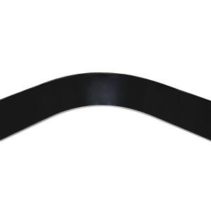 4013 Закругление цоколя (универсальное) 100мм 1,0м пластик, черный