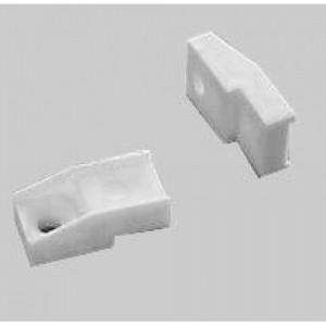 1006 Стеклодержатель пластмассовый белый №1 А