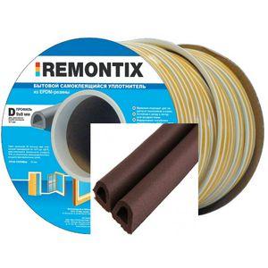 0604 Уплотнитель Remontix D100 коричневый 1 коробка 600м
