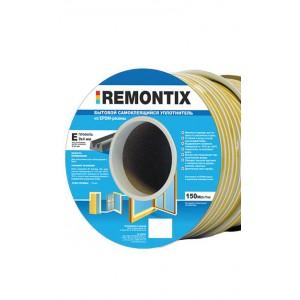 0610 Уплотнитель Remontix Е-профиль белый, 150м 1 коробка 900м