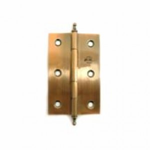 4710 Петля железная 50мм золото