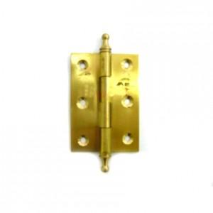 4713 Петля железная 75мм золото