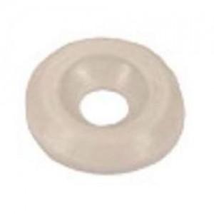 1004 Шайба пластиковая под винт М4 белая