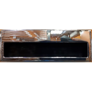 1645 Ручка Оскар 96мм врезная прямоугольная хром