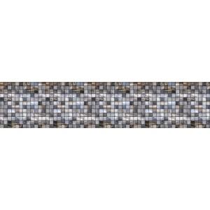 Панель AL27 Голубая мозайка 2800*610*4мм