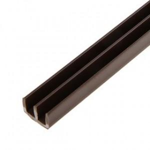 882 Профиль Ш-образный 2м коричневый