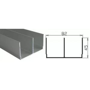 93 Направляющая верхняя двухполозная для РКМ-80 Al-P-005-2м