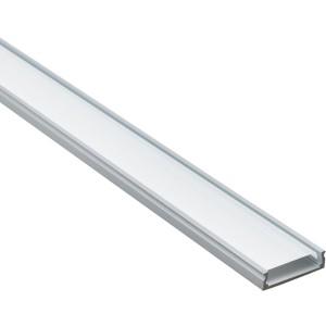 3883 Профиль накладной для светодиода 2000х23,8х6 SP266 Ам