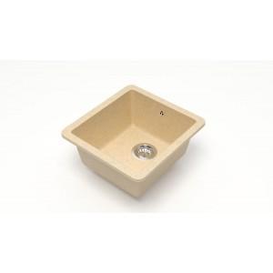 13246 Мойка матовая Модель 27/Q6 (слоновая кость)  Карельский камень