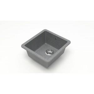 13248 Мойка матовая Модель 27/Q8 (тёмно-серый)  Карельский камень