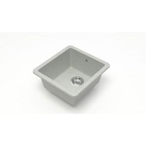 13250 Мойка матовая Модель 27/Q10 (светло-серый)  Карельский камень
