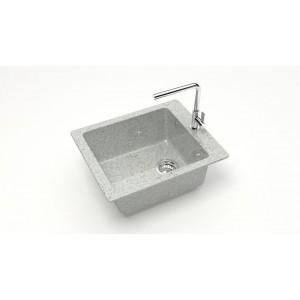 13308 Мойка глянцевая Линди Z8Q10 (светло-серый)  Granit MARRBAXX