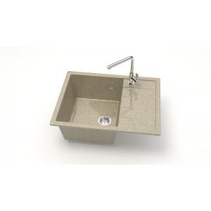 13197 Мойка глянцевый Катрин Z151Q5 (песочный)  Granit MARRBAXX