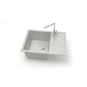 13318 Мойка глянцевый Катрин Z151Q10 (светло-серый)  Granit MARRBAXX