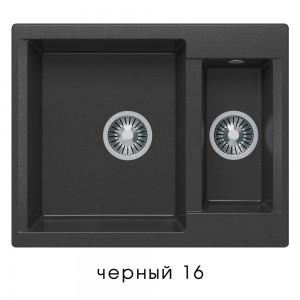8545 Мойка Polygran BRIG-620 №16 (Черный)