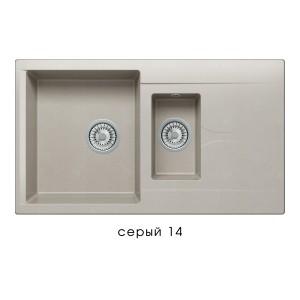 8790 Мойка Poligran BRIG-870 №14 (Серый)