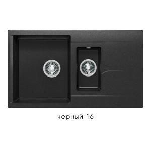 8793 Мойка Poligran BRIG-870 №16 (Черный)