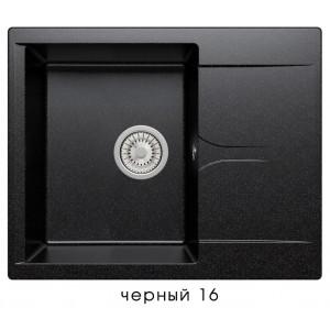8849 Мойка polygran GALS-620 №16 (Черный)