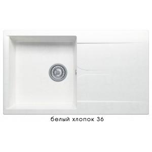 8026 Мойка GALS-860 №36 (Белый хлопок)