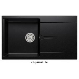 8696 Мойка GALS-860 №16 (Черный)