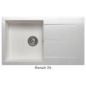 8750 Мойка GALS-860 №26 (Белый)