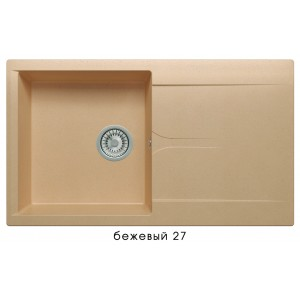 8752 Мойка GALS-860 №27 (Бежевый)