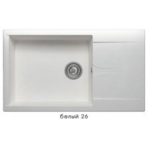 8300 Мойка GALS-862 №26 (Белый)