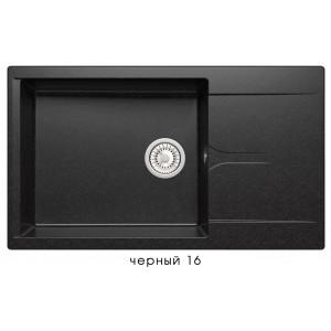 8301 Мойка GALS-862 №16 (Черный)