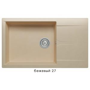 8369 Мойка GALS-862 №27 (Бежевый)