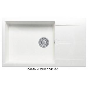 8370 Мойка GALS-862 №36 (Белый хлопок)