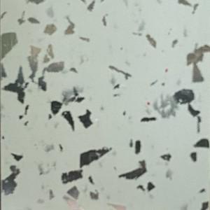 0907 Плинтуc для столешниц AP740 1375 Белый кристалл (фурнитура 1110) 37*24*4200мм